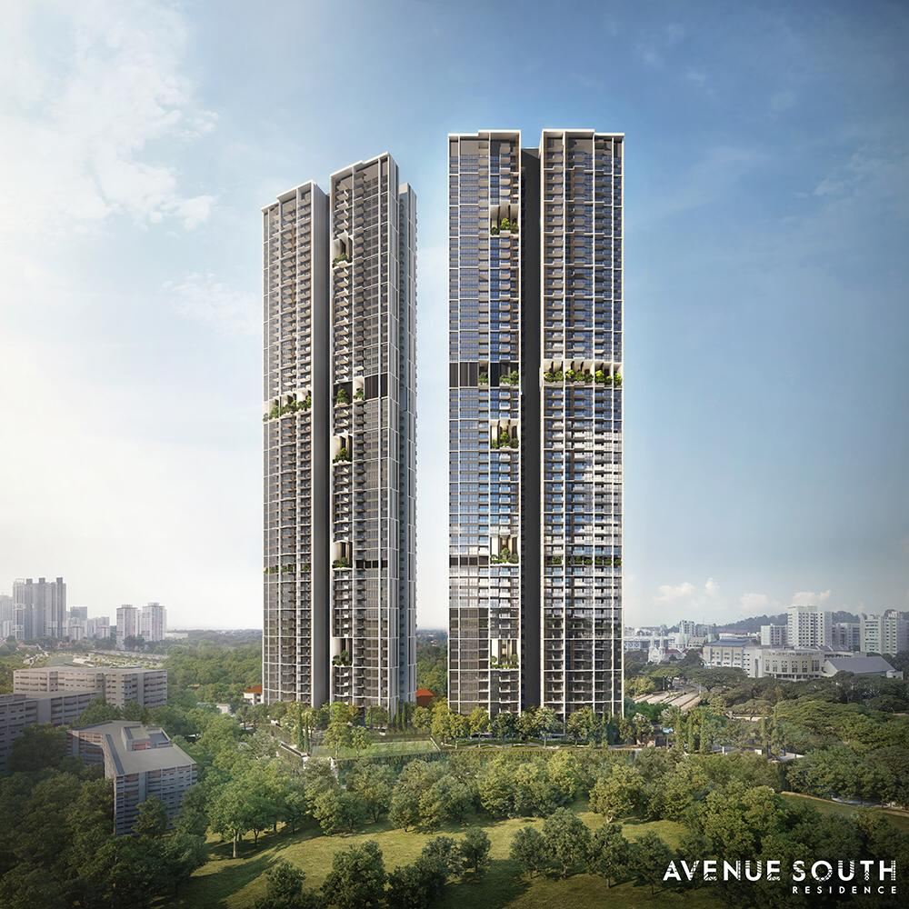 Avenue South Residences floorplan